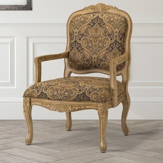 Link to Gracewood Hollow Auxier French Provincial Accent Chair Similar Items in Living Room Furniture