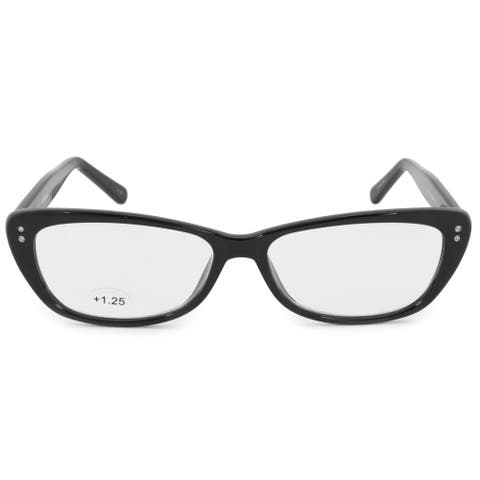 Harley Davidson Oval Reading Eyeglasses HD3013 BLK 52 +1.25
