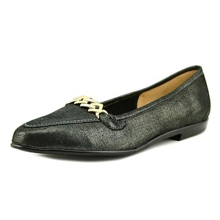 Amalfi By Rangoni Oste   Round Toe Canvas  Loafer