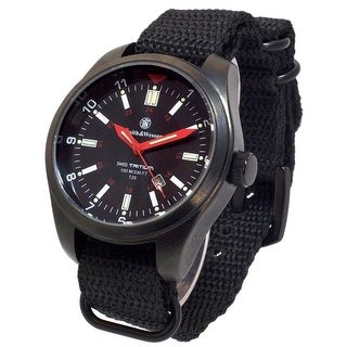 Smith & Wesson Military H3 Watch SWISS TRITIUM 10ATM - Black