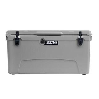 Driftsun 110 Quart Ice Chest / Heavy Duty Cooler / High Performance Commercial Grade Insulation (Grey)