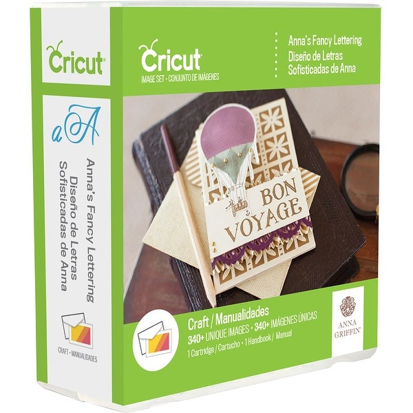 Cricut Font Cartridge-Anna Griffin Fancy Lettering