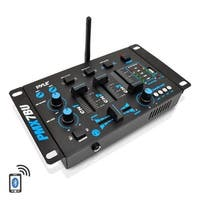 Pyle PMX7BU Bluetooth 3-Channel DJ MP3 Mixer