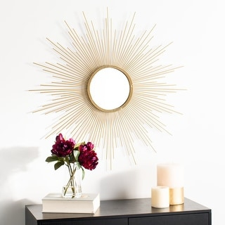 "Link to Safavieh 36"" Lorien Sunburst Mirror - 35.8"" x 1"" x 36"" Similar Items in Mirrors"