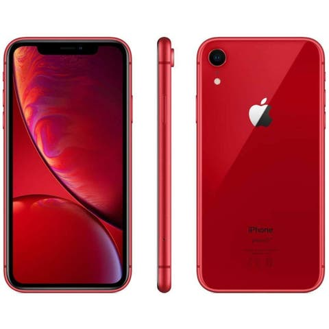 Apple iPhone XR 64GB Red Unlocked (Refurbished)