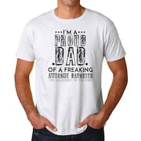 I'm A Proud Dad Men's White T-shirt