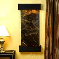 Adagio Cascade Springs Fountain with Blackened Copper Finish and Squared Edges - Multiple Colors Available