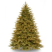6.5' Pre-Lit Nordic Spruce Artificial Christmas Tree - Clear Lights - green