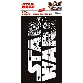 "Star Wars 4x8"" One Color Decal - multi"
