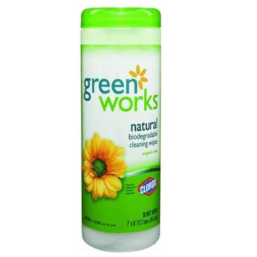 Greenworks 30311 Natural Wipes, Original Scent