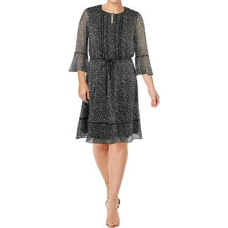 Lauren Ralph Lauren Womens Wear to Work Dress Office Wear Knee-Length
