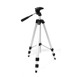 Digital Camera Camcorder 3 Sections Aluminum Leg Pan/Tilt Tripod 4.4Ft Height