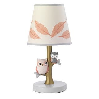 Lambs Ivy C Family Tree Lamp With Shade Bulb