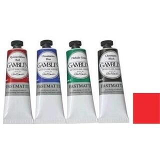 Gamblin GF1475 37ml Artists Grade FastMatte - Napthol Scarlet
