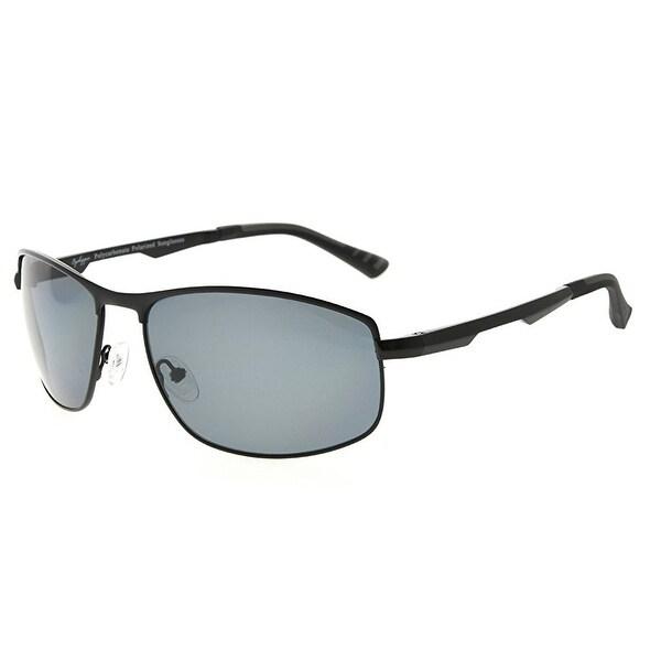 c2fba9071aa Eyekepper Metal Frame Spring Hinges Polycarbonate Lens Polarized Sunglasses  Men Women