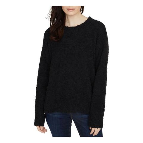SANCTUARY Womens Black Long Sleeve Jewel Neck Sweater Size XS