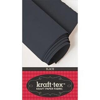 """Black - Kraft-Tex Kraft Paper Fabric 18""""X54"""""""