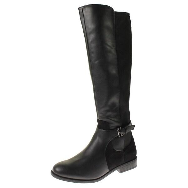 Steve Madden Womens Verify Riding Boots Faux Leather Knee-High - 10 medium (b,m)