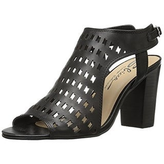 Sbicca Womens Dress Sandals Leather Perforated - 8 medium (b,m)