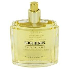 BOUCHERON by Boucheron Eau De Toilette Spray (Tester) 3.4 oz - Men