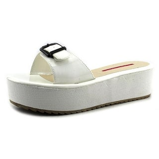 C Label Mollini-30 Open Toe Synthetic Slides Sandal