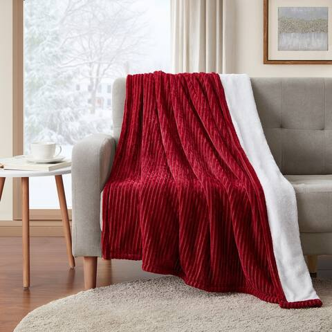 Chenille Ribbed Throw