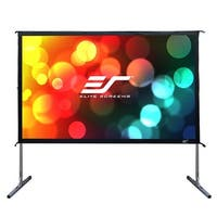 "Elite Screens OMS135HR2 Yard Master 2 135"" WraithVeil Outdoor Movie Screen"