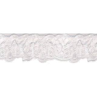 "Daisy Loop Lace 1-5/8""X12yd-White"