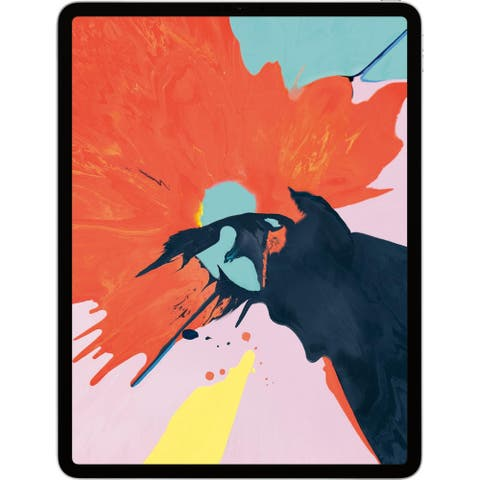 Apple - 12.9-Inch iPad Pro (3rd Generation) with Wi-Fi - 1TB - Silver
