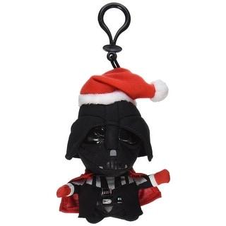 "Star Wars 4"" Mini Talking Plush Clip-On: Santa Darth Vader"