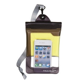 Travelon Waterproof Smart Phone and Digital Camera Pouch, Clear