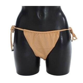 Dolce & Gabbana Beige Bikini Bottom Swimwear Beachwear - it5-xl