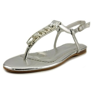 Nine West Shayne 4 Open Toe Synthetic Thong Sandal
