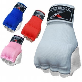Training Boxing Inner Gloves Hand Wraps MMA Fist Protector Bandages Mitts G100-White
