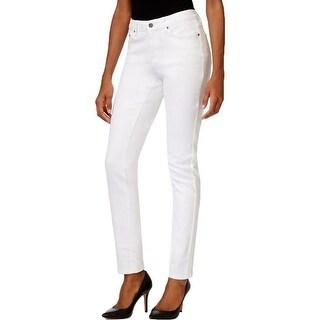 Earl Jean Womens Skinny Jeans Ankle Crop Low-Rise