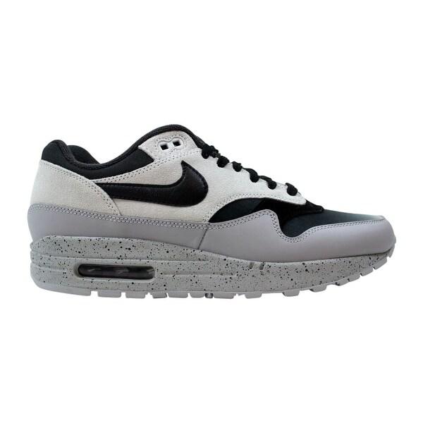 Shop Nike Air Max 1 Premium Pure PlatinumBlack Wolf Grey