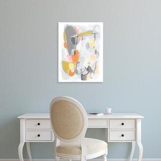 Easy Art Prints June Erica Vess's 'Scale I' Premium Canvas Art