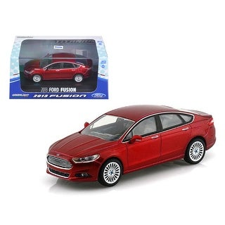 2013 Ford Fusion Ruby Red Metallic 1/43 Diecast Model Car by Greenlight