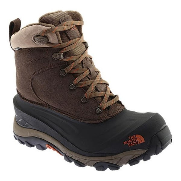 ef06a5bfa32 Shop The North Face Men's Chilkat III Snow Boot Mudpack Brown/Bombay ...