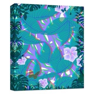 """PTM Images 9-124825  PTM Canvas Collection 10"""" x 8"""" - """"Tropical Fun"""" Giclee Tropical Art Print on Canvas"""
