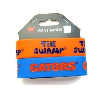 Florida Gators Rubber Wrist Band Set