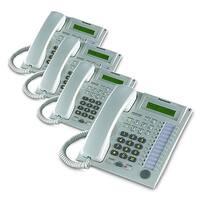 """""""Panasonic-KX-T7731W (4 Pack) Speakerphone Telephone With LCD"""""""