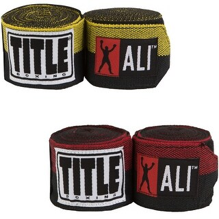 "Title Boxing 180"" Muhammad Ali Semi-Stretch Handwraps"