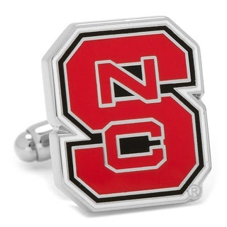 North Carolina State Wolfpack Cufflinks - Red