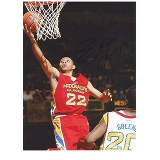 Eric Gordon McDonalds All-American Autographed 8.5x11. This Item comes with a COA from Autograph-Sports.
