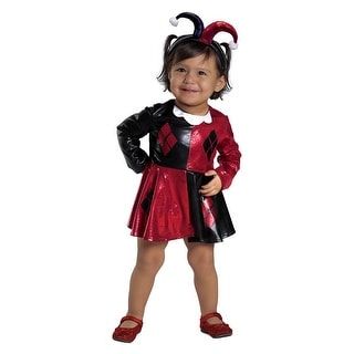 Harley Quinn Dress and Diaper Cover