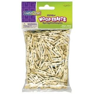 "Creativity Street - Wood Craft Pins - 3.75"" Doll Pins - 30/Pkg."