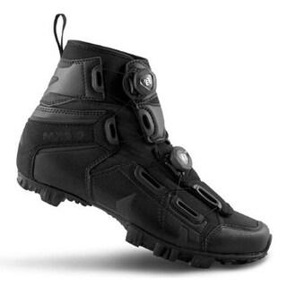 Lake Men's Black/Black MX145-X Wide Winter Boots Size 43