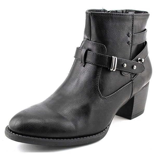 White Mountain Rotary Women Black/Black Boots