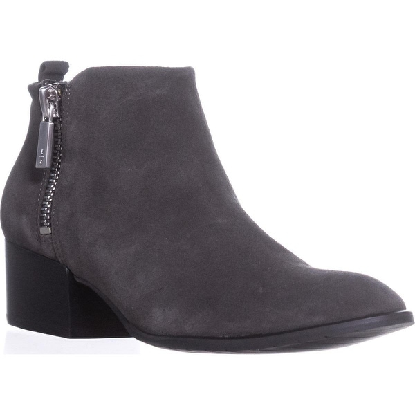Kenneth Cole New York Addy Short Ankle Boots, Asphault - 7.5 us